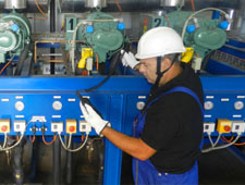 Assistenza tecnica impianti frigoriferi industriali - impianti di refrigerazione industriale image over