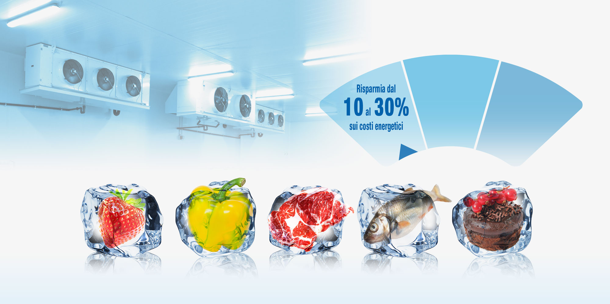 Impianti frigoriferi industriali impianti di refrigerazione impianto frigorifero per alimenti