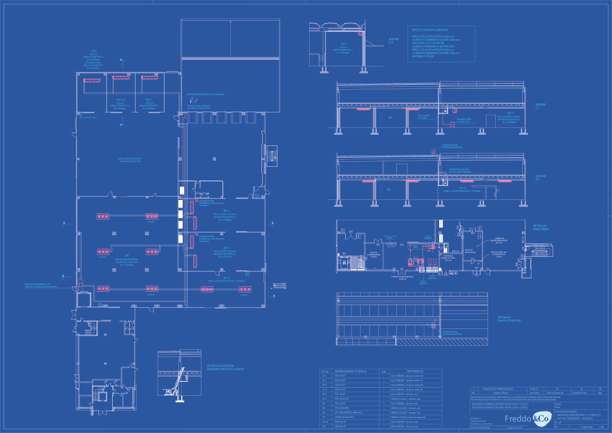 Refrigeration plant industrial refrigeration systems - engineering project 2