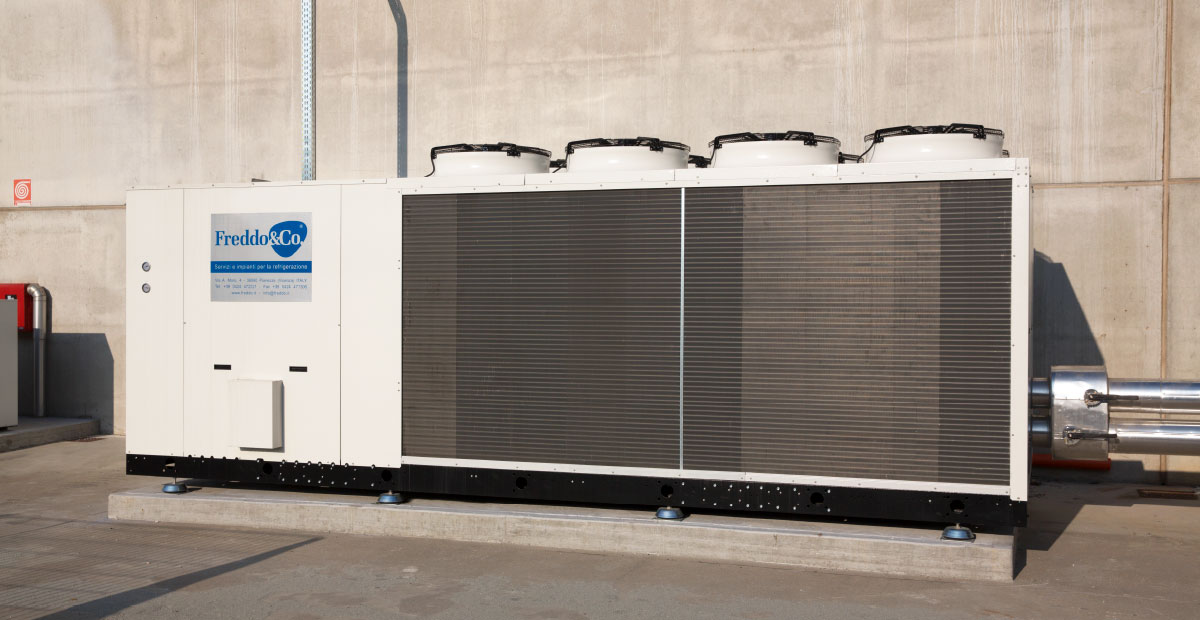 Noleggio Impianti refrigerazione - Chiller esterno3 - Freddo & Co