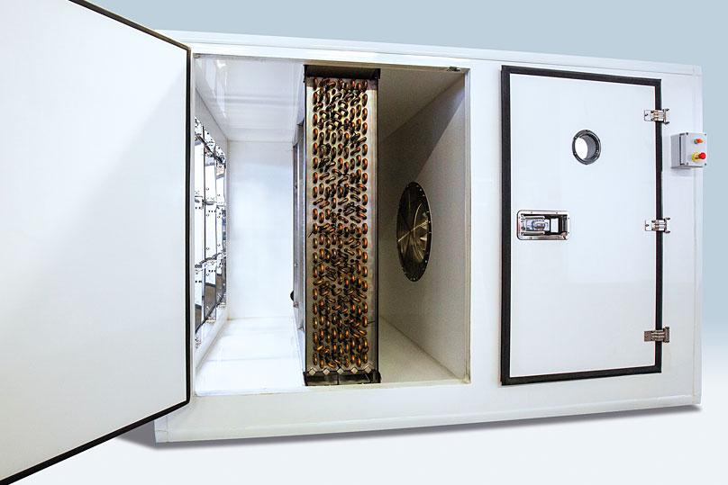 Refrigeration plant industrial refrigeration systems - rental img03