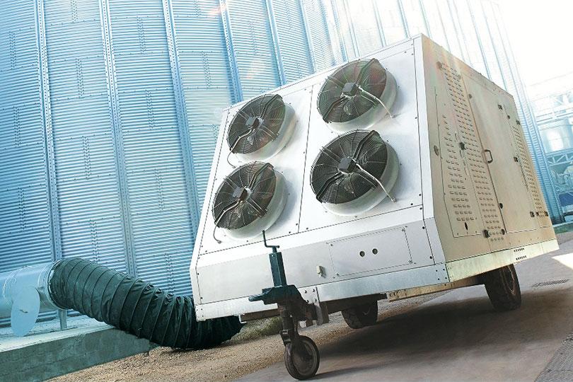Refrigerazione industriale - Refrigeratore di cereali1 - Freddo & Co