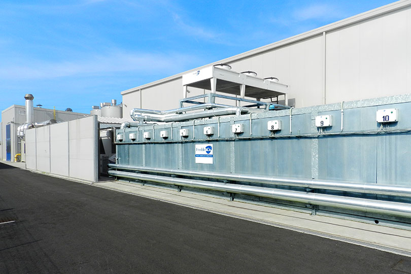 Refrigeration plant industrial refrigeration systems - project num14