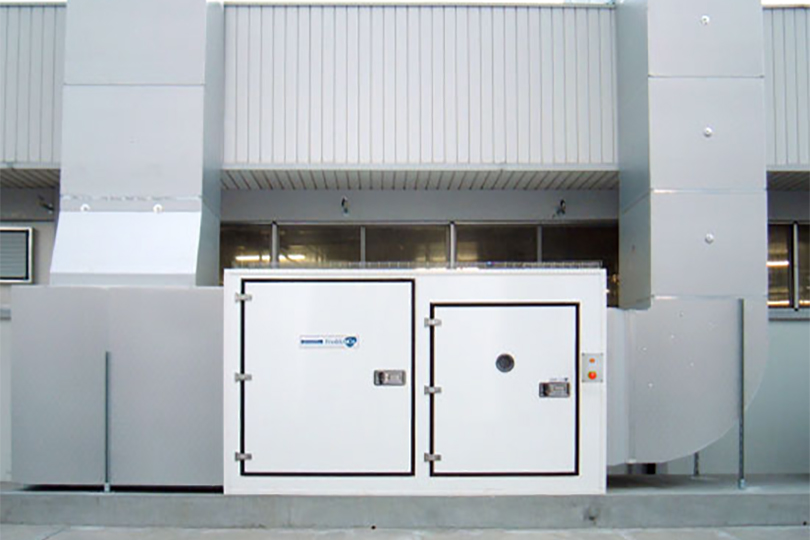 Refrigeration plant industrial refrigeration systems - project num30