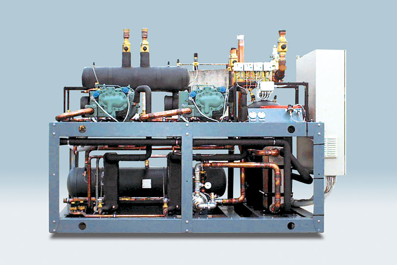 Refrigeration plant industrial refrigeration systems - project num35