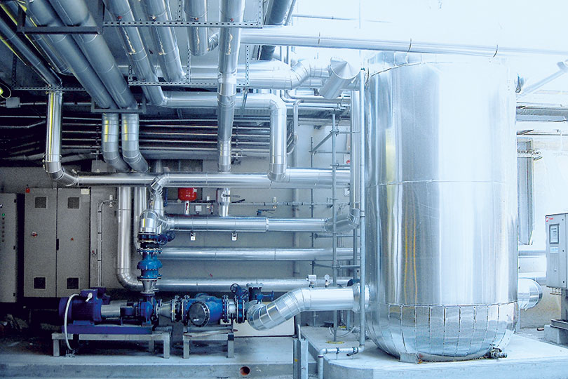 Refrigeration plant industrial refrigeration systems - project num45