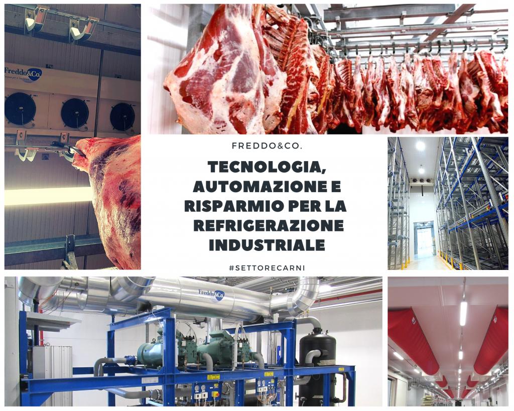refrigerazione settore carne